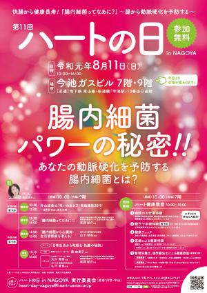 第11回ハートの日in NAGOYA(名古屋ハートセンター)